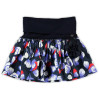 Le Chic Girls rok Satijn Navy 98-104