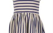 Petit Louie Sula Dress Breton Stripe 122/134