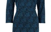 King Louie Mod Dress Eclipse blue S/XL