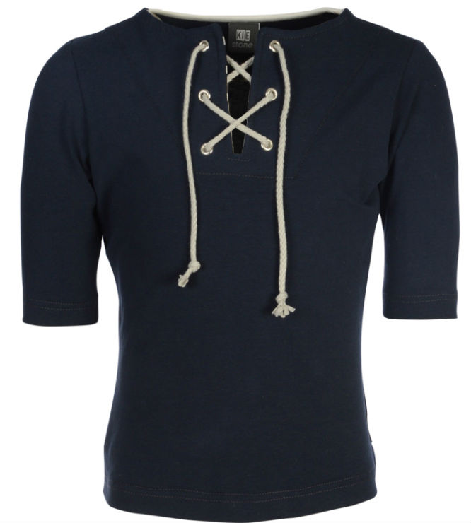 9cd2b46588e Kiestone pre-spring collectie shirt halve mouw blue ps5018 - Bink en ...