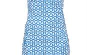 Miss Chaos dameskleding jurk Linn cobalt L