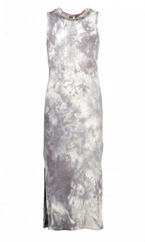 be64bce9a52b09 Like Flo meisjes lange jurk Marble 104 152 - Bink en Blink
