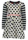 B Nosy meisjes jurk Y709-5881-960 dott blauw 98/134