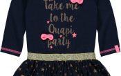 Quapi baby meisjes jurk Galya Blue 68/86