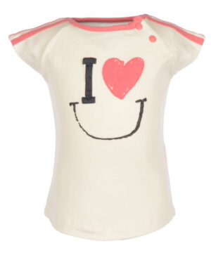 Flo Baby Girls T-shirt Irma Off-white 68/80