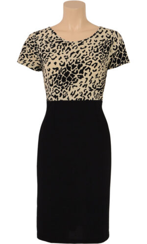 King Louie mod dress Feline