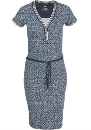 Miss Chaos dameskleding jurk Lilian Dark grey