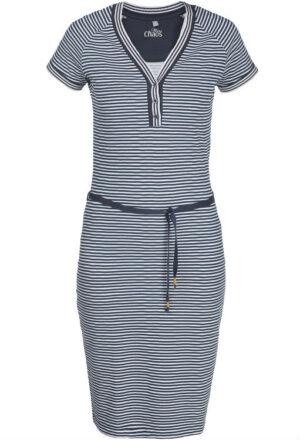 Miss Chaos dameskleding jurk Lilian stripe