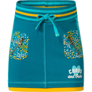 Chaos and Order meisjes rok Lilly petrol