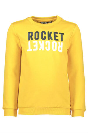 Like Flo boys sweater yellow F902-6302