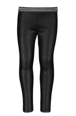 Flo girls jacquard snake legging black F908-5516