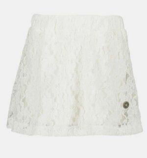 Like Flo lace skirt off-white F904-5700