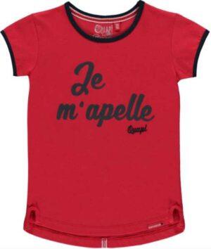 Quapi meisjes t-shirt Sindy rouge red