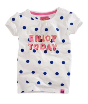 Z8 meisjes t-shirt Zoe bright white