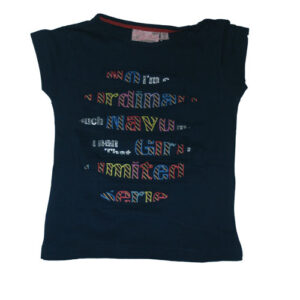 Knot So Bad girls Shirtje Navy