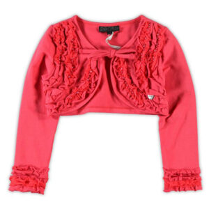 Le Chic baby girls bolero tea berry