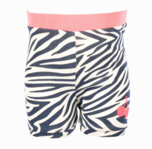 Flo Baby Girls Jersey Short Zebra