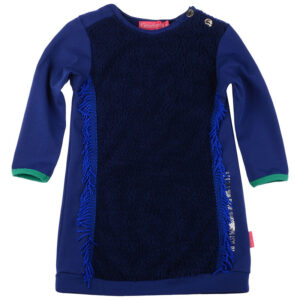 Kiezeltje Mini Dress Teddy Kobalt