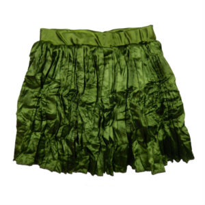 Lofff Crushed Skirt Green