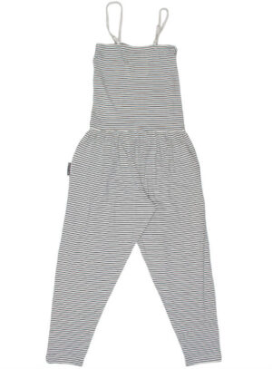 Mijn Girls Jumpsuit Lotte Blauw-Off-White Gestreept