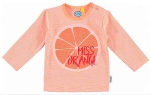 O'Chillie baby meisjes t-shirt Bente orange stripes