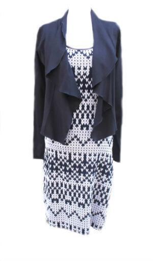 Pepperz Dames Vest-jasje Betty Donkerblauw