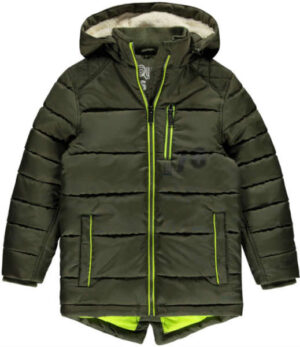 Like Flo boys jacket army contrast hood 110-152