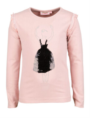 Someone meisjes t-shirt Ballet light pink