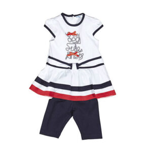 UBS2 Baby Girls Set jurk-legging