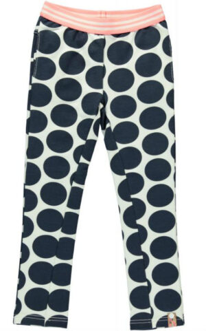 B Nosy meisjes pants navy big dot