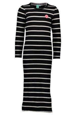 B Nosy lange jurk stripe Y710-5808