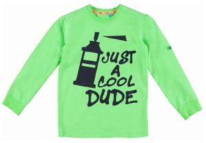 B'Chill jongens t-shirt Joey neon green