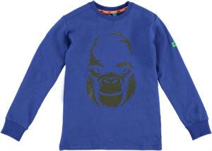 B'Chill jongens t-shirt Bram kobalt