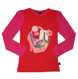 Dutch Heroes Girls T-shirt Lipstick