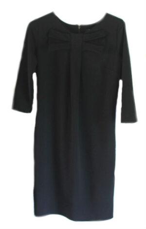 Envy dames jurk zwart met strik