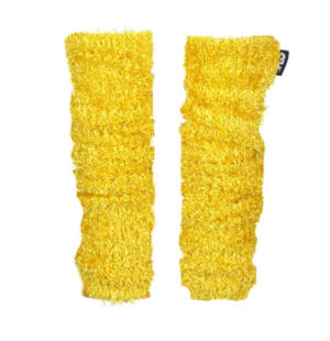 Like Flo hairy knitted legwarmers