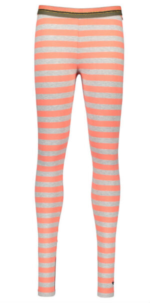 Like Flo girls legging papaya stripe