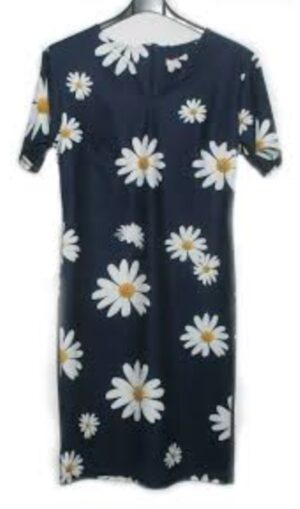 Sophia dames jurk Madelief blauw
