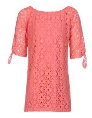 Kiestone meisjes jurk Raspberry lace KS5427