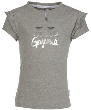 Kiestone meisjes t-shirt grey melee