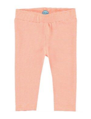 O'Chillie baby meisjes legging Fieke orange stripes