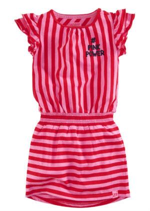 Z8 meisjes jurk Julia stripes
