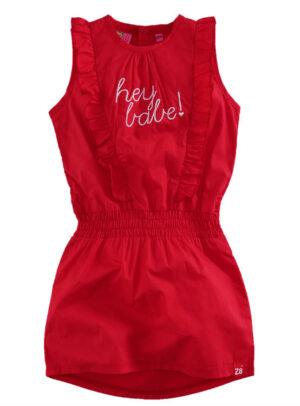 Z8 meisjes jurk Mathilda lipstick red