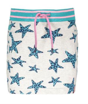 B.Nosy girls sweat star-panther skirt