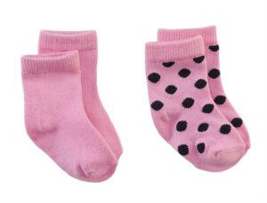 Z8 newborn baby sokjes Mississippi pink