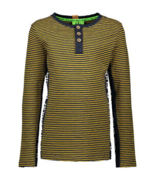 B.Nosy boys ls shirt stripe ink blue-mars yellow Y908-6435
