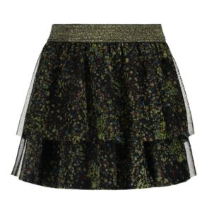 Flo girls mesh skirt black F908-5728