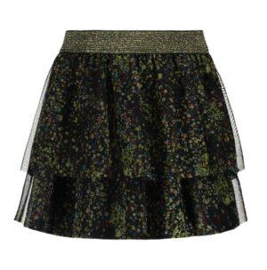 Flo girls mesh skirt black F908-5728