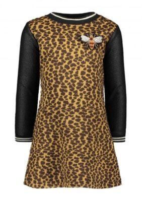 Flo girls dot jacquard dress F908-5813