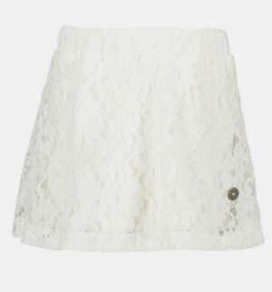 Like Flo lace skirt off-white F904-5700